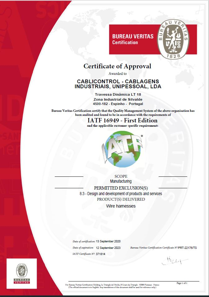 Certificado | Scape Marketing & Design